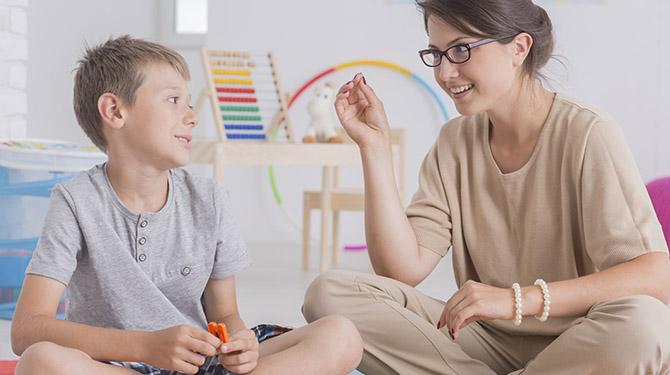 بازی های گفتار درمانی برای کودکان