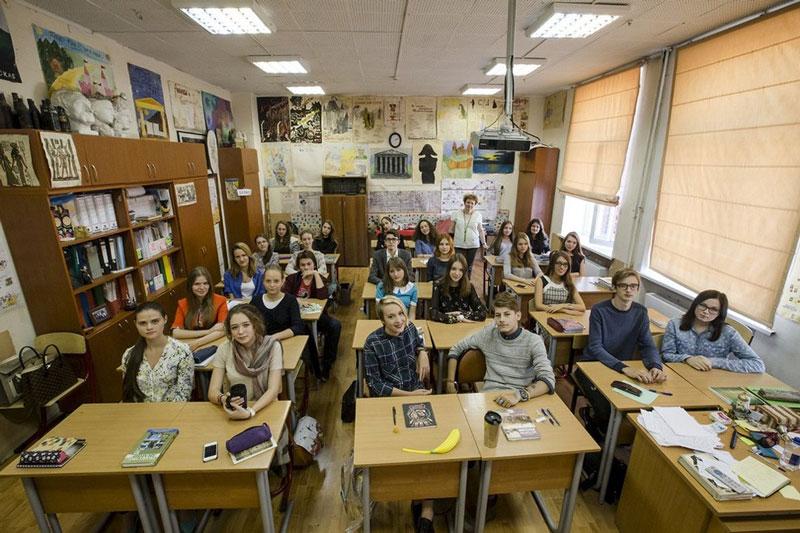مدرسه در روسیه