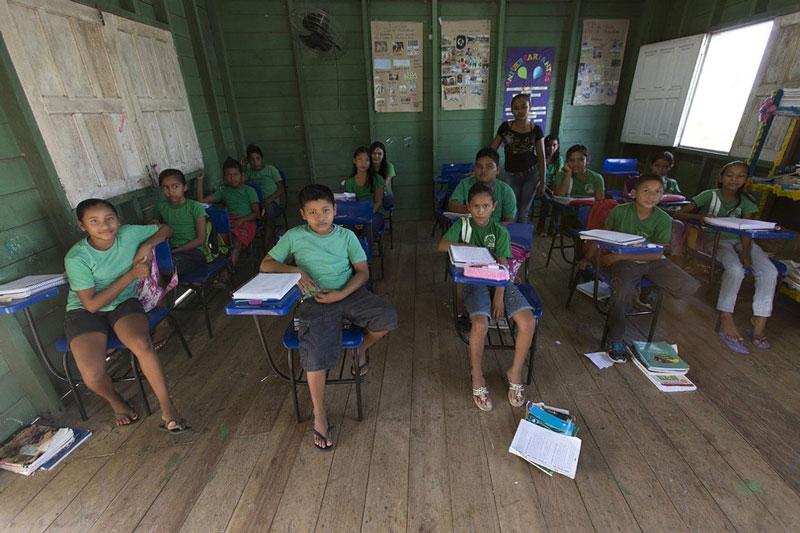 کلاس درسی در برزیل