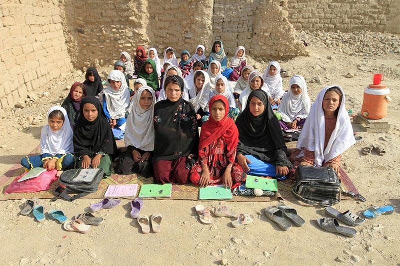 کلاس درس افغانستان