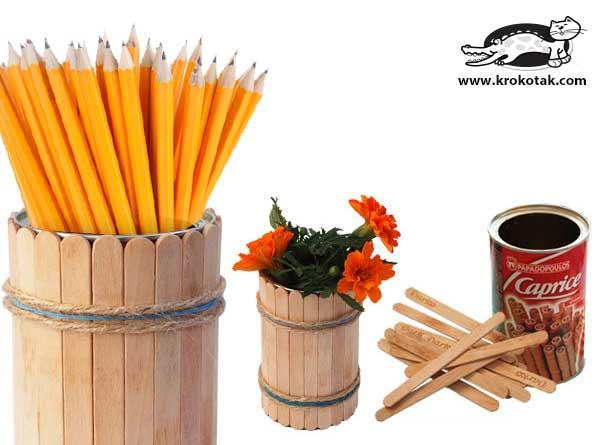 طرز تهیه کاردستی با چوب
