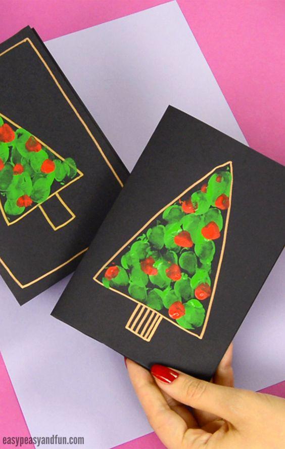 کاردستی کریسمس: تزئینات با مقوا و کاغذرنگی