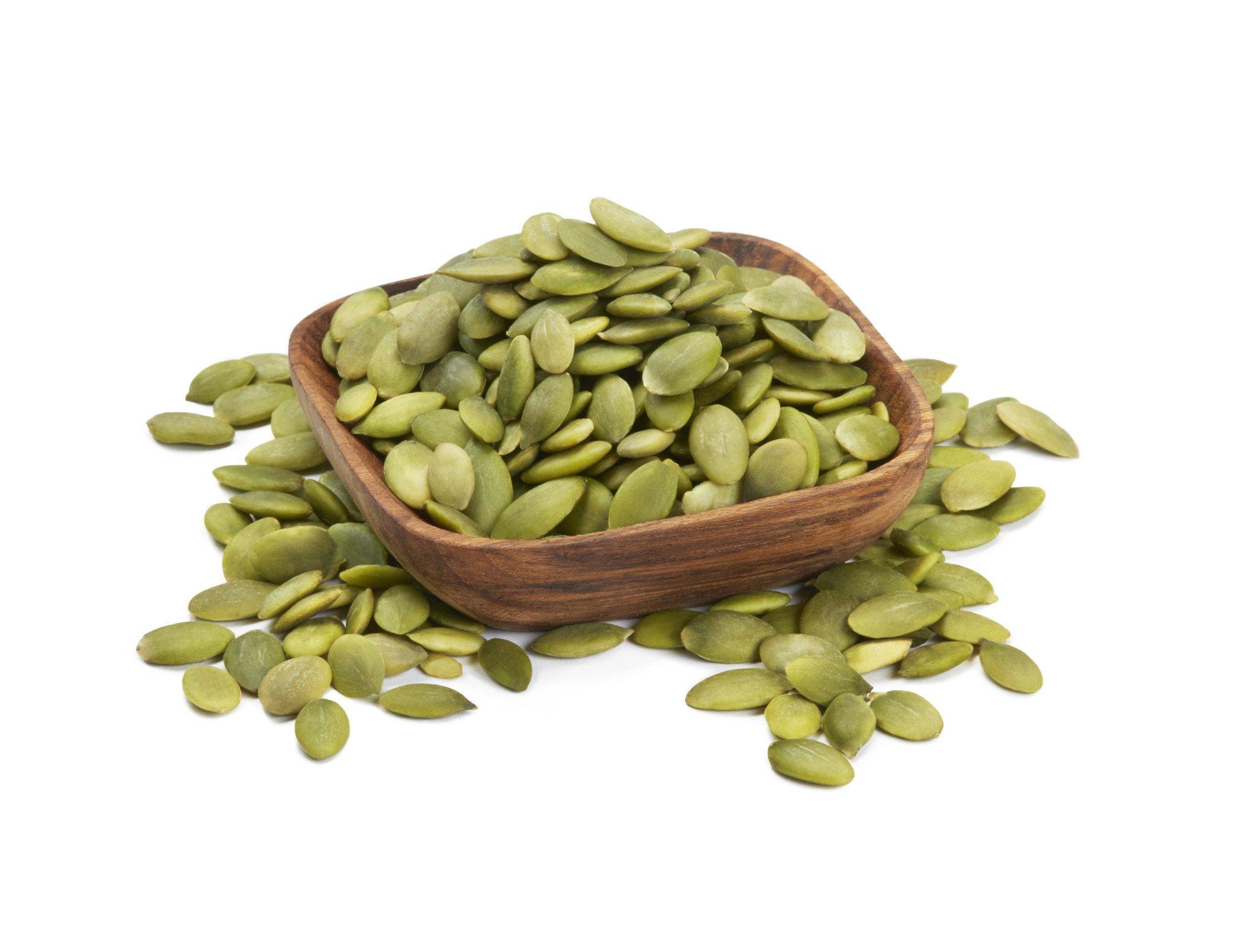 8. تخمه کدو - منبع پروتئین گیاهی