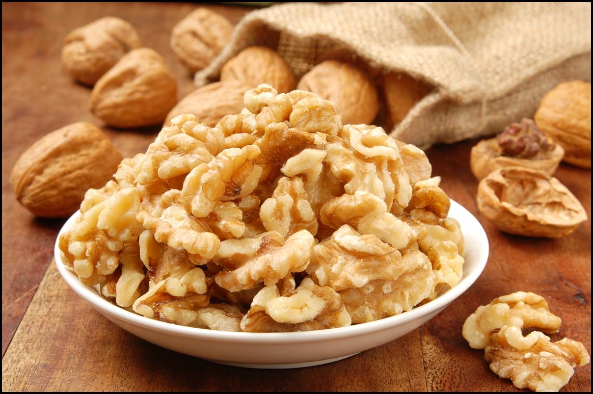 3. گردو:منبع پروتئین گیاهی