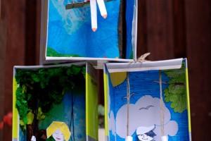 کاردستی ساخت تاب و عروسک