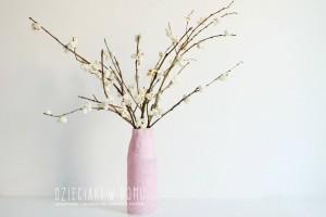 کاردستی ساخت درخت با چوب درخت و پاپ کورن