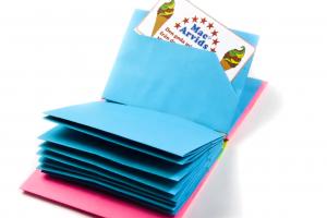 ویدئو کاردستی کتاب با مقوا برای کودکان پیش دبستانی 6