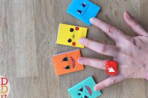 ویدئو کاردستی کتاب با مقوا برای کودکان پیش دبستانی 3