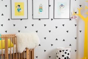 رنگ آمیزی دیوار اتاق کودک