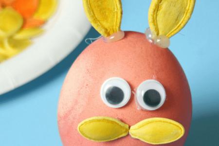 کاردستی ساخت موش با تخم مرغ و تخم کدو حلوایی