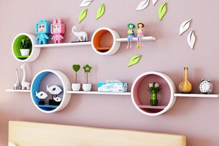 شلف دیواری اتاق نوزاد و کودک - 100 ایده تصویری