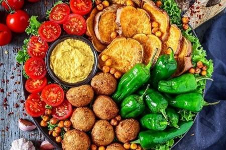 غذاهای گیاهی - 140 ایده تصویری پخت و تزئین