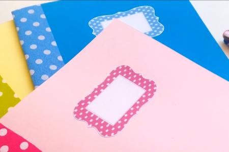 ویدئو کاردستی کتاب با مقوا برای کودکان پیش دبستانی 4