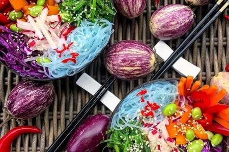 129 تصویر بشقاب سبزیجات وگن و گیاهی
