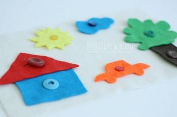 بازی کودکان خردسال: آشنایی با رنگ ها
