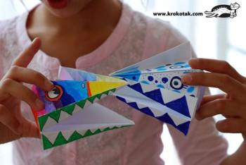 کاردستی ساخت حیوان با کاغذهای رنگی