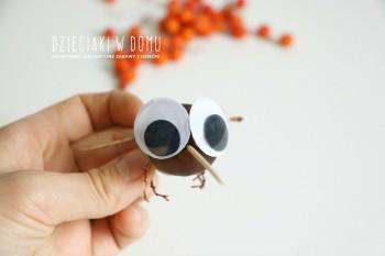 کاردستی ساخت لاک پشت و مگس با فندوق