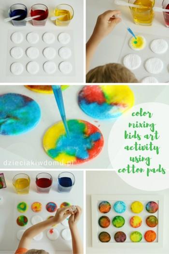 کاردستی ساخت پیکسل های رنگارنگ