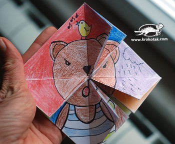 کاردستی کودک: اوریگامی امروز چه احساسی داری؟