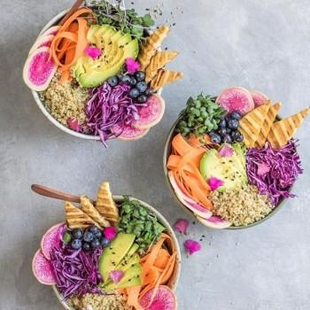 غذاهای گیاهی - 150 ایده تصویری پخت و تزئین