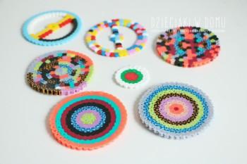 کاردستی کودک - استوانه های پلاستیکی