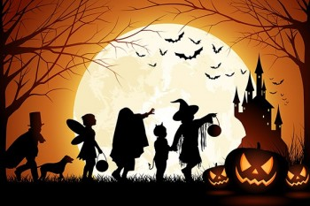 جشن هلووین کودکانه