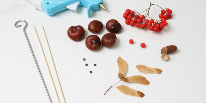 ساخت کاردستی حیوانات با میوه ها