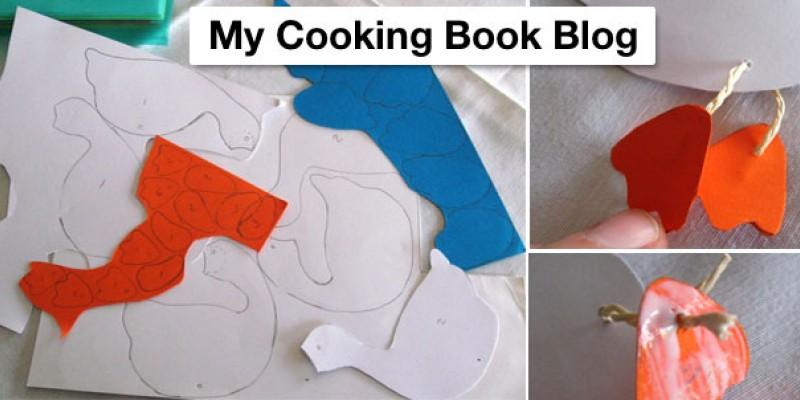 کاردستی ساخت اردک با کاغذ رنگی