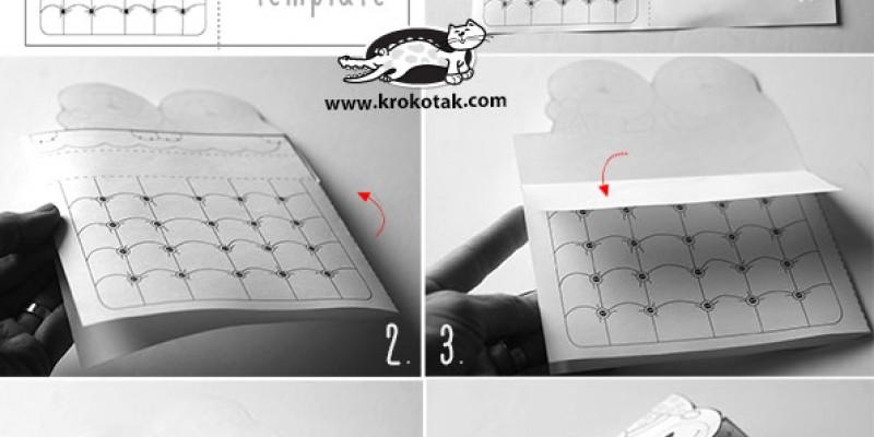 کاردستی ساخت رخت خواب خرس ها با پرینتر