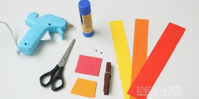 کاردستی ساخت طاووس با کاغذهای رنگی