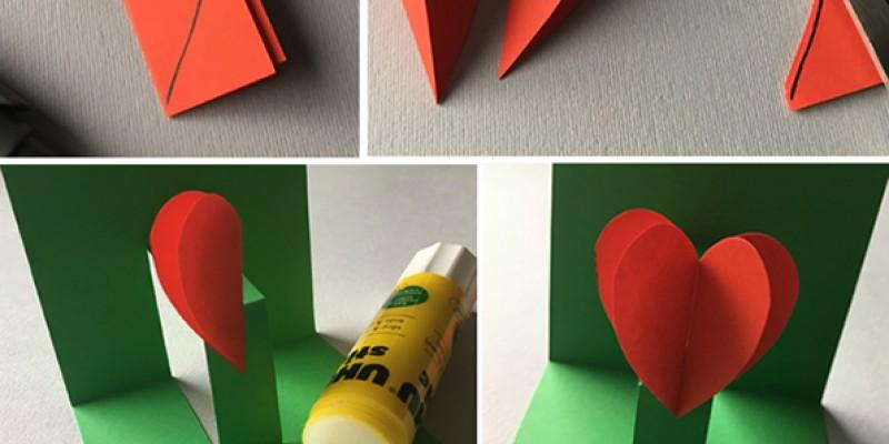 کاردستی کودک: ساخت کارت پستال سورپرایزی