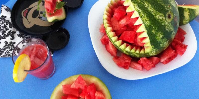 کار دستی کودکان با هندوانه