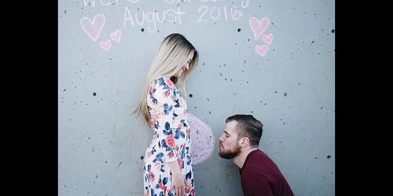 عکس خبر بارداری - سورپرایز خبر بارداری - 30 ایده