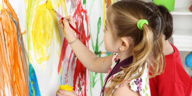 فواید نقاشی کردن کودکان