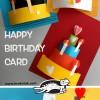 کاردستی کارت تبریک تولد